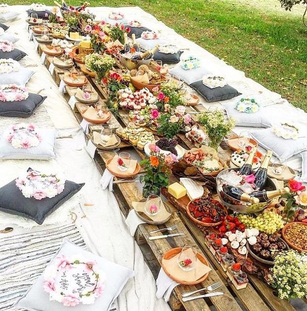 mesas pastorais para casamento