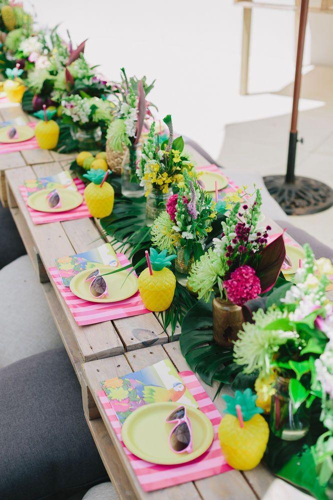 Cha de Panela Cha de Lingerie Cha Bar – 5 dicas para uma festa tropical 48