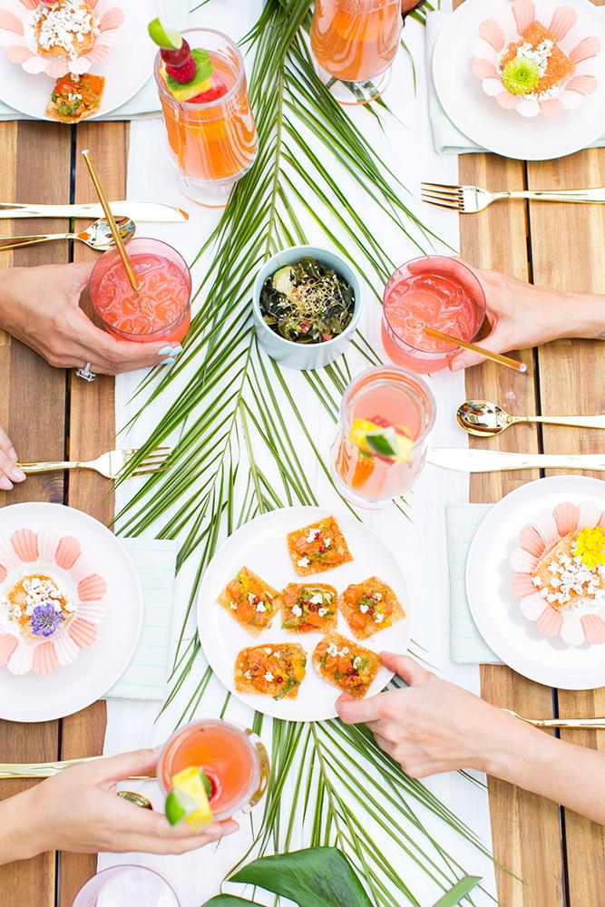 Cha de Panela Cha de Lingerie Cha Bar 5 dicas para uma festa tropical 9