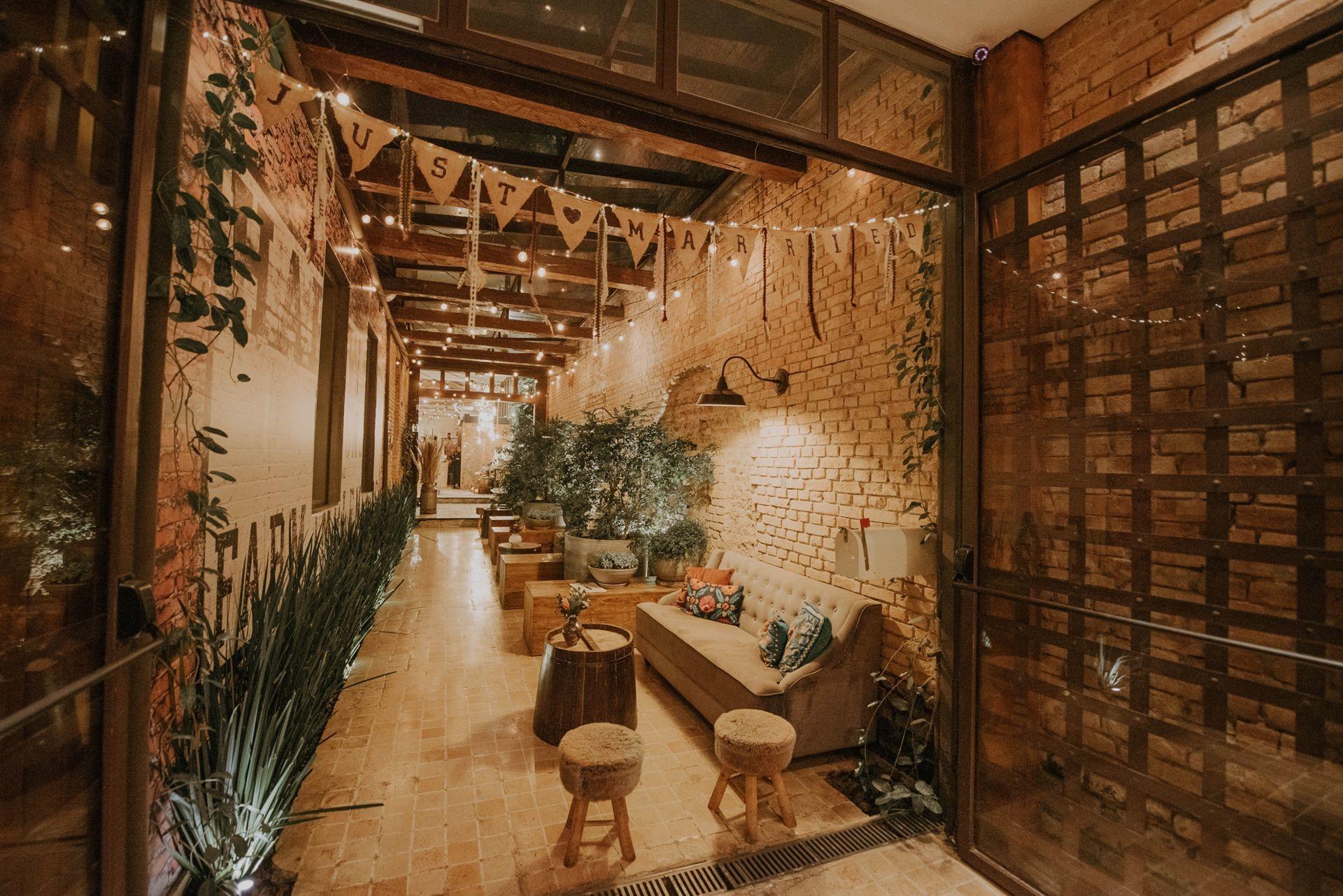 Um bom lugar para casar Celeiro Quintal 3