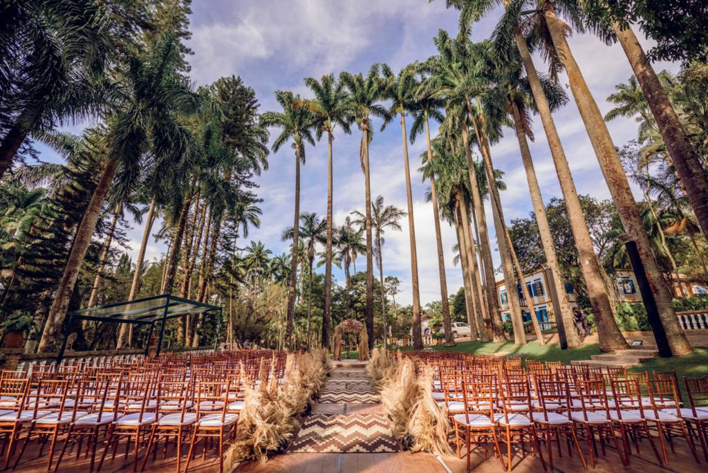 Um bom lugar para casar Fazenda Santa Barbara 1